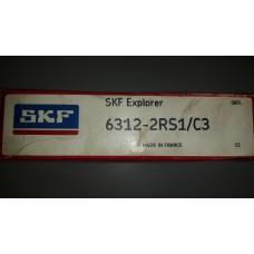 Vòng bi SKF 6312RS/C3-SKF, bạc đạn SKF 6312RS/C3-SKF