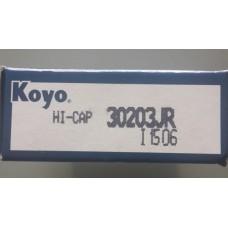 Vòng bi 30203-KOYO, bạc đạn 30203-KOYO