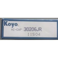 Vòng bi KOYO 30206-KOYO, bạc đạn KOYO 30206-KOYO