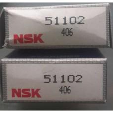 Vòng bi NSK 51102-NSK, bạc đạn NSK 51102-NSK