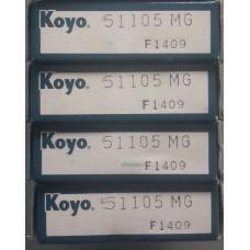 Vòng bi KOYO 51105-KOYO, bạc đạn KOYO 51105-KOYO