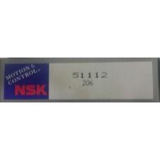 Vòng bi NSK 51112-NSK, bạc đạn NSK 51112-NSK