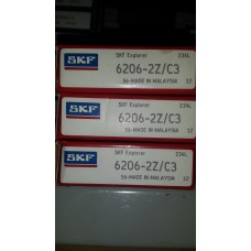 Vòng bi SKF 6206ZZ-SKF, bạc đạn SKF 6206ZZ-SKF