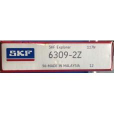 Vòng bi SKF 6309-2Z-SKF, bạc đạn SKF 6309-2Z-SKF