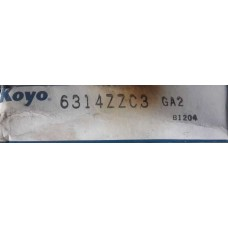 Vòng bi KOYO 6314ZZ-KOYO, bạc đạn KOYO 6314ZZ-KOYO